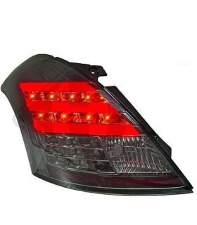 PILOTOS TRASEROS LED SWIFT 10++ NO MODELO SPORT CRISTAL CLARO/AHUMADO
