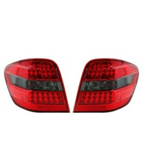 PILOTOS LED MERCEDES ML W164. COLOR ROJO-AHUMADO.