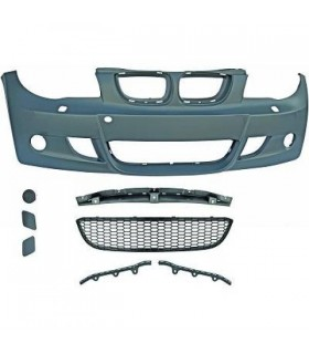 PARAGOLPES BMW E87 04-07. LOOK PACK M. SIN PARK TRONIC CON LAVAFAROS