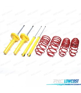 KIT SUSPENSION DEPORTIVA SKODA FABIA 1999-2007