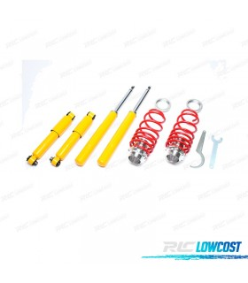 KIT SUSPENSIONES ROSCADAS CITROEN SAXO 04/1996 - 2003