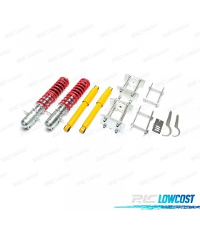 KIT SUSPENSIONES ROSCADAS VOLKSWAGEN CADDY 1982 - 1992