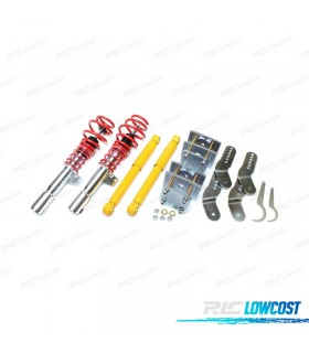 KIT SUSPENSIONES ROSCADAS VOLKSWAGEN CADDY 2003 -