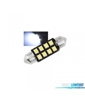1 BOMBILLA LED MATRICULA O INTERIOR 39 MM