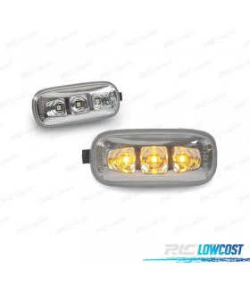 INTERMITENTES LATERALES LED AUDI A4 B6 B7 2001-2007 CROMADOS