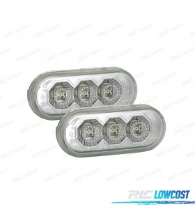 INTERMITENTES LATERALES LED CROMADO