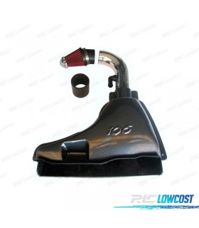 KIT COMPLETO CAMPANA DE ADMISION PARA PEUGEOT 106 (FASE 1 Y 2)