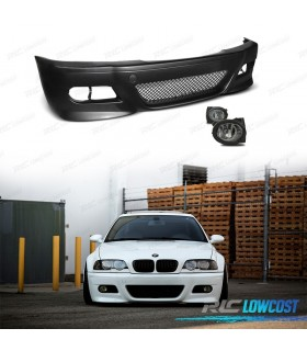 PACK PARAGOLPES E46 LOOK M3 CON NIEBLAS PACK M