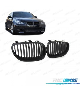 PARRILLAS TIPO M5 PARA BMW E60 COLOR NEGRO