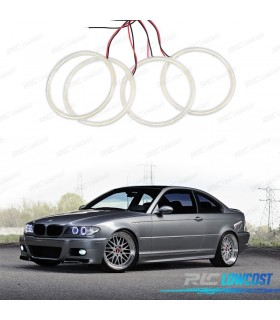 KIT OJOS DE ANGEL CCFL PARA BMW E46 COUPE CABRIO 2003-2006 (SOLO RESTYLING)