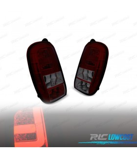 PILOTOS TRASEROS DACIA DUSTER 10-13 LIGHT BAR ROJO/AHUMADO*REVISADO*