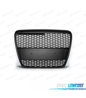 PARRILLA AUDI A6 4F 04-08 LOOK RS6 COLOR NEGRO*REVISADO*