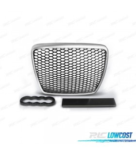 PARRILLA AUDI A6 4F 08-11 LOOK RS6 COLOR GRIS CLARO*REVISADO*