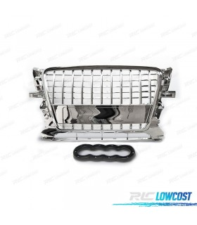 PARRILLA AUDI Q5 08- LOOK S-LINE COLOR PLATA*REVISADO*