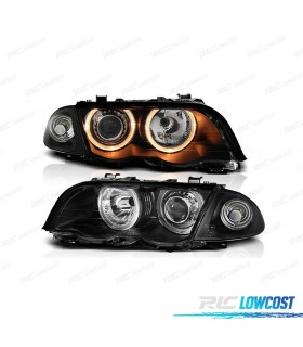 FAROS ANGEL EYES E46, 98-01 COLOR NEGRO