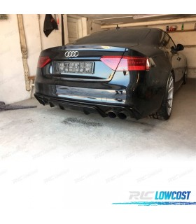 DIFUSOR LOOK RS5 AUDI A5 S5 B8 B81 COUPE CABRIO (11- )