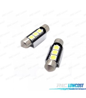 BOMBILLA LED CANBUS FESTOON C5W 36MM