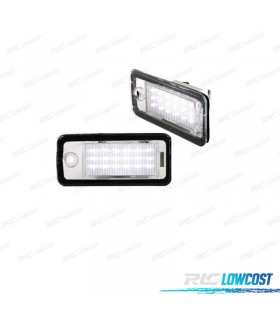 LUCES DE MATRÍCULA LED AUDI A3 8P (2004-2008)