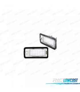 LUCES DE MATRÍCULA LED AUDI A4 B6 Y B7 (2000-2008)
