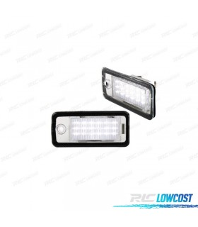 Luces de matrícula LED AUDI A6 C6 (2004-2011)