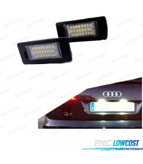 Luces de matrícula LED Audi Q5 (2008-2014)