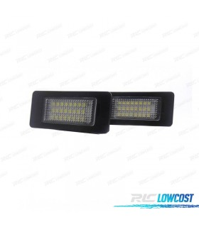 Luces de matrícula LED BMW Serie 1 E82 coupe y E88 cabrio (2007-2014)