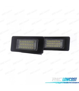 Luces de matrícula LED BMW X5 E70 y X6 E71 (2006-2014)