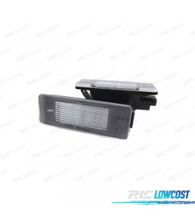Luces de matrícula LED para CITROEN - Tipo 2
