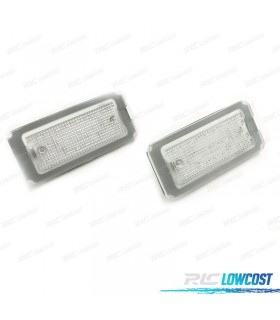 LUCES DE MATRÍCULA LED FIAT 500 Y 500C (2007-2016)