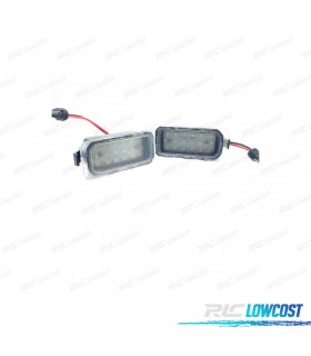 Luces de matrícula LED Ford Mondeo MK IV (2008-2014)