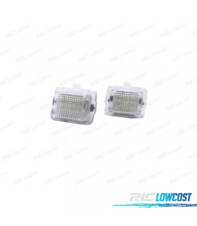 Luces de matrícula LED Mercedes-Benz Clase E W212 (2010-2014)