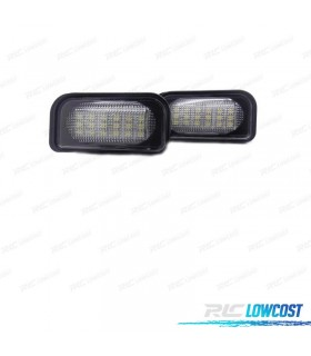 Luces de matrícula LED Mercedes-Benz Clase CLS W211 (2003-2009)