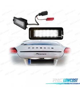 Luces de matrícula LED Porsche Cayman 987 (2005-2010)