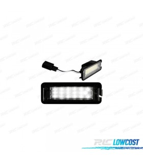 Luces de matrícula LED Seat Exeo (2009-2015)