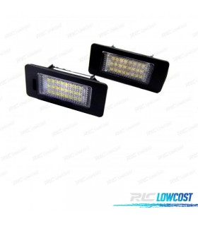Luces de matrícula LED Volkswagen Golf VI Variant y Plus (2010-2016)
