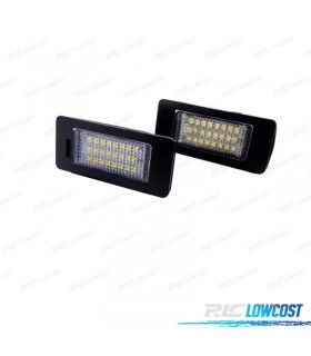 LUCES DE MATRÍCULA LED VOLKSWAGEN SHARAN 7N 2011-2016