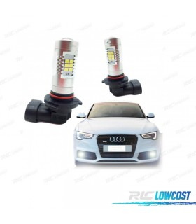 Kit de bombillas antiniebla LED HB3 9005 60 Watios Canbus