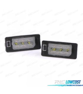 Luces de matrícula LED para BMW Serie 5 E39 E60 E61