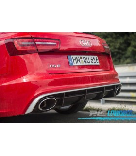 DIFUSOR AUDI A6 4G LOOK RS6 LIMO 7 AVANT (11- )