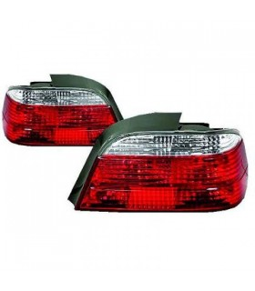 PILOTOS BMW E38, 94-01- BRILLANTE- ROJO-BLANCO