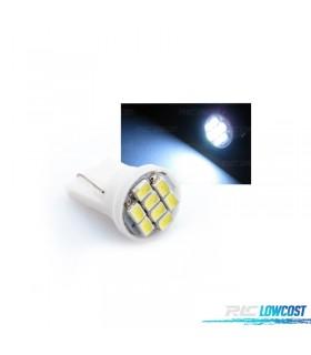 1 BOMBILLA 8 LED T10 INTERIOR VEHICULO