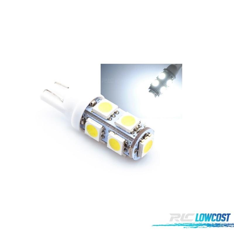 1 BOMBILLA LED T10 9 SMD PARA LUZ POSICION