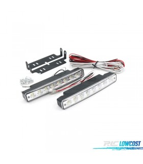 KIT LUZ DIURNA 8 LEDS