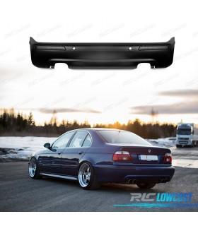 PARAGOLPES TRASERO BMW E39 LOOK M5 DOBLE SALIDA PDC