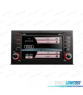 "RADIO NAVEGADOR 7"" AUDI A4 B6/B7 00-07 USB GPS TACTIL HD"