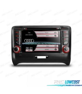 """RADIO NAVEGADOR 7"""" AUDI TT 06-12 USB GPS TACTIL HD"""