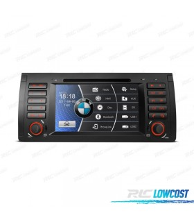 "RADIO NAVEGADOR 7"" BMW X5 E53 99-06 USB GPS TACTIL HD"
