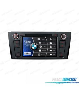 "RADIO NAVEGADOR 7"" BMW SERIE 1 E81/82/87/88 04-11 USB GPS TACTIL HD*NUEVO*"