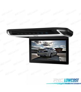 PANTALLA DE TECHO 10 PULGADAS HD USB SD DVD COLOR NEGRO*NUEVO*