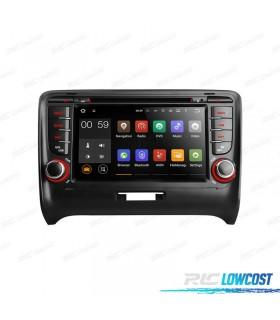 "RADIO NAVEGADOR ANDROID 5.1 7"" AUDI TT MK2 06-12 USB GPS TACTIL HD"